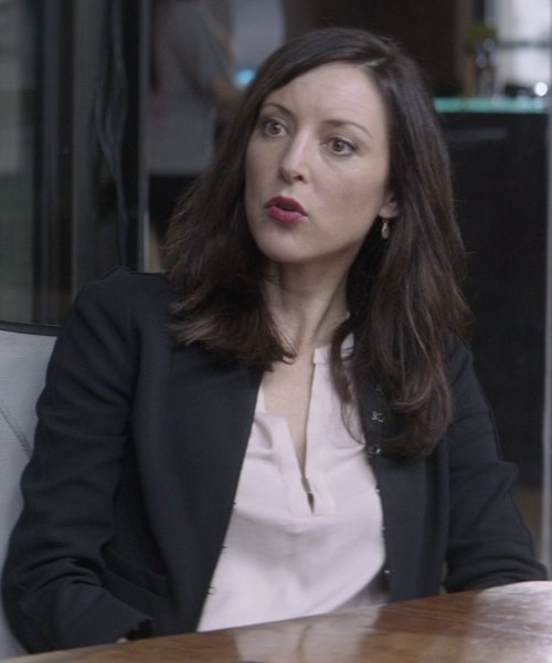 Lola Glaudini with Theory Marcela Blazer in That Awkward Moment