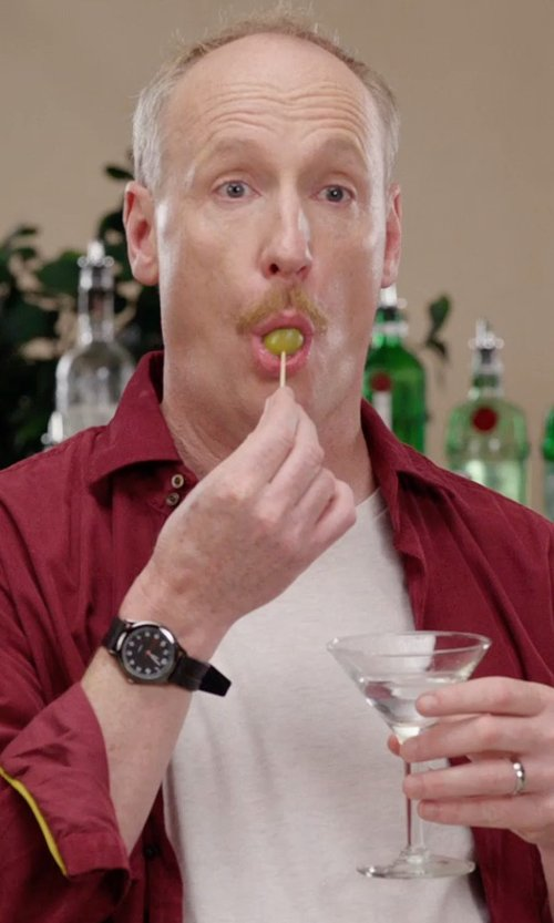 Matt Walsh with Riedel Vivant Martini Glasses in Get Hard