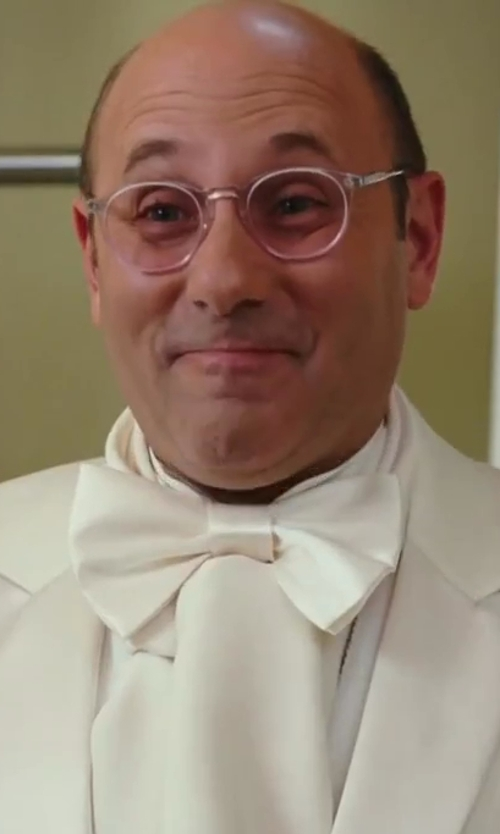 Willie Garson with Forzieri Solid Silk Scarf in Sex and the City 2
