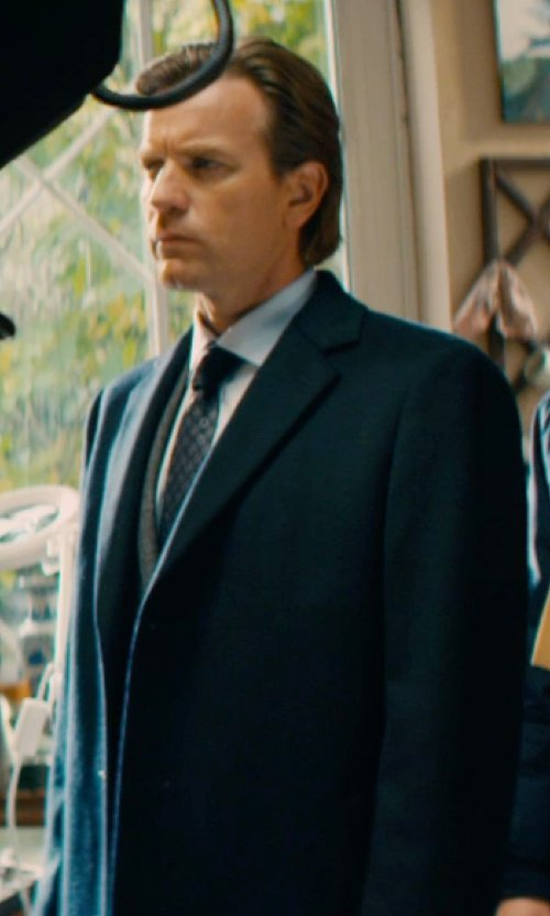 Ewan McGregor with The Kooples Prince De Galle Wool Vest in Mortdecai