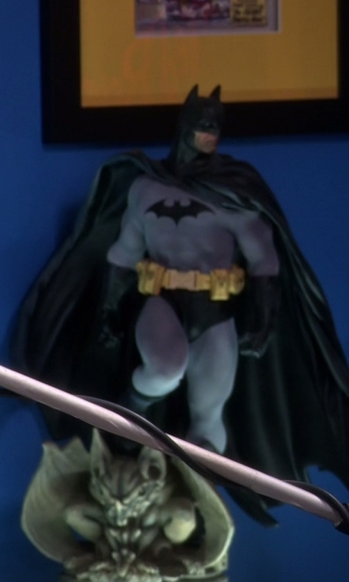 Unknown Actor with Sideshow Collectibles Batman Premium Format Figure in The Big Bang Theory