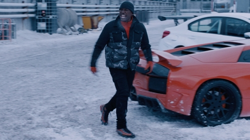 Tyrese Gibson with La Sportiva Trango TRK GTX Boots in The Fate of the Furious