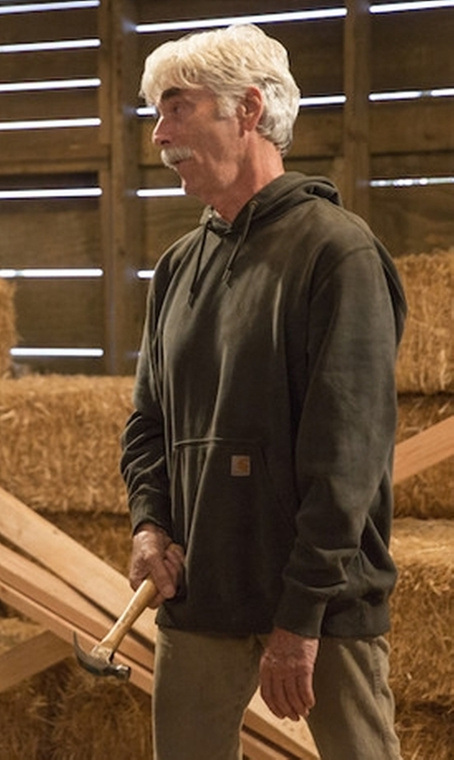 Sam Elliott with Carhartt Original-Fit Hooded Pullover in The Ranch