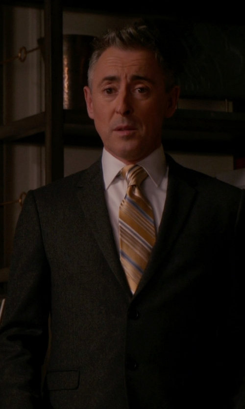 Alan Cumming with Givenchy Classic Formal Suit in The Good Wife