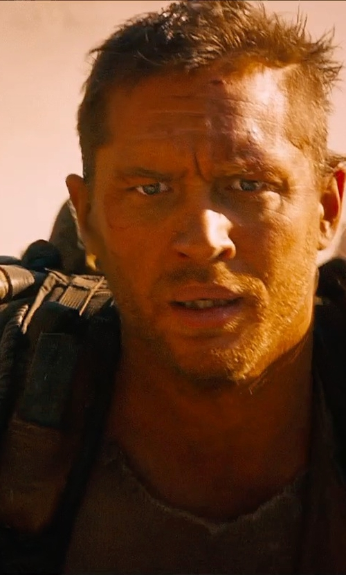 Tom Hardy with Jenny Beavan (Costume Designer) Custom Made Shoulder Pad (Max Rockatansky) in Mad Max: Fury Road