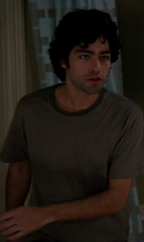 Adrian Grenier with Wings + Horns Short Sleeve T-Shirt in The Devil Wears Prada