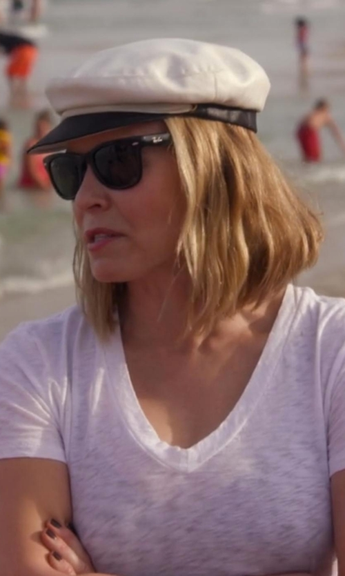 Chelsea Handler with Betmar Blake Newsboy Cap in Chelsea