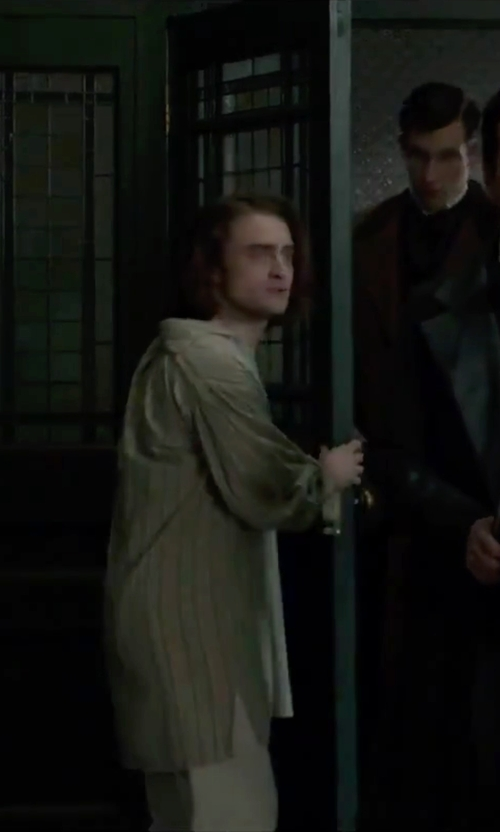 Daniel Radcliffe with 2(x)ist Comfort Lounge Pant in Victor Frankenstein