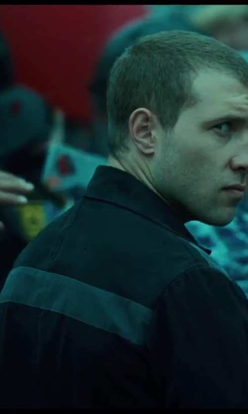 Jai Courtney with Russian Ministry Prison Uniform in A Good Day to Die Hard