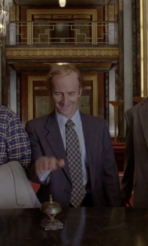 Denis O'Hare with Nordstrom Medallion Silk Tie in American Horror Story