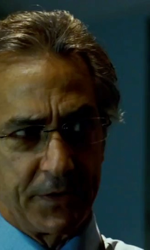 David Strathairn with Oakley Keel Eyeglasses in The Bourne Ultimatum