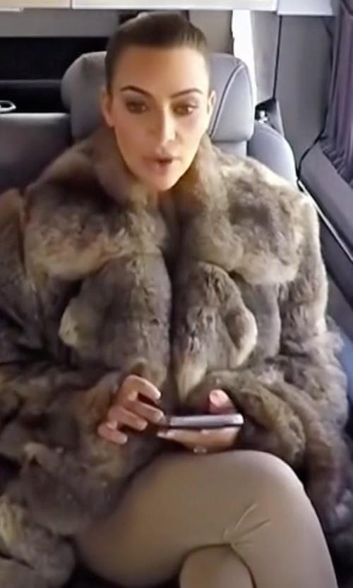 Kim Kardashian West with Yeezy SS16 High Waist Leggings in Keeping Up With The Kardashians