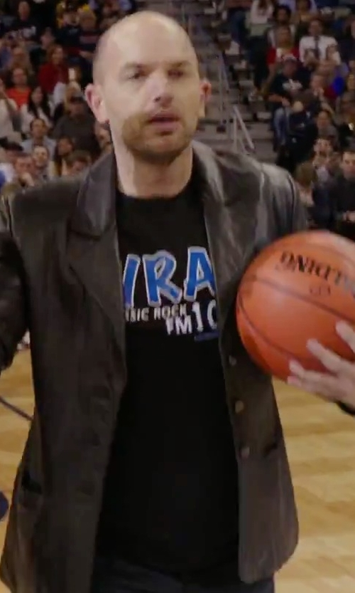 Paul Scheer with Polo Sport Performance Jersey Graphic T-Shirt in Daddy's Home