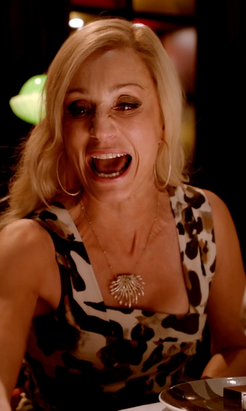 Kristin Scott Thomas with Roberto Coin Gold Hoop Earrings in Only God Forgives