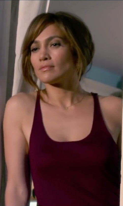 Jennifer Lopez with Three Dots Red Women's Classic Fit Tank in The Boy Next Door