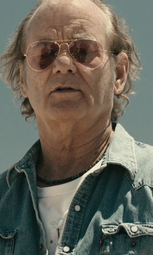 Bill Murray with D.U.D.S. Virtual World Tee in Rock The Kasbah