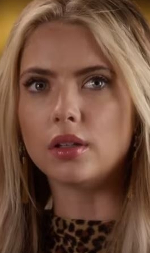 Ashley Benson with Baublebar Hanalei Drop Earrings in Pretty Little Liars