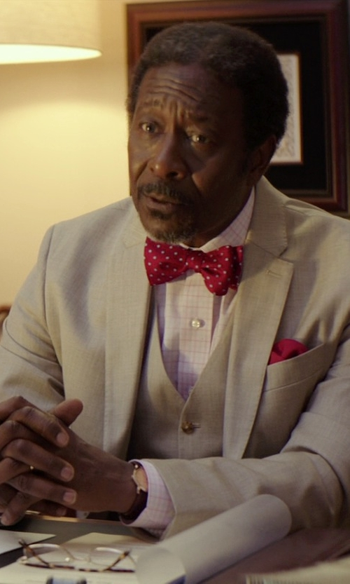 Clarke Peters with Arrow Linen Suit Separate Jacket in The Best of Me