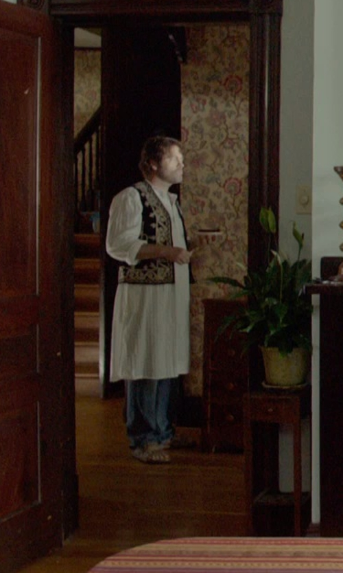 Nick Offerman with (+) People Denim Pants in Me and Earl and the Dying Girl