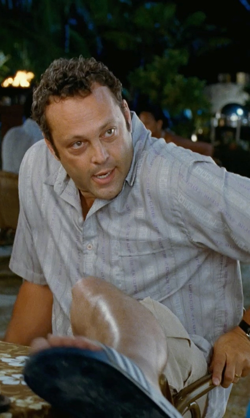 Vince Vaughn with Tommy Bahama Ashore Thing Short in Couple's Retreat