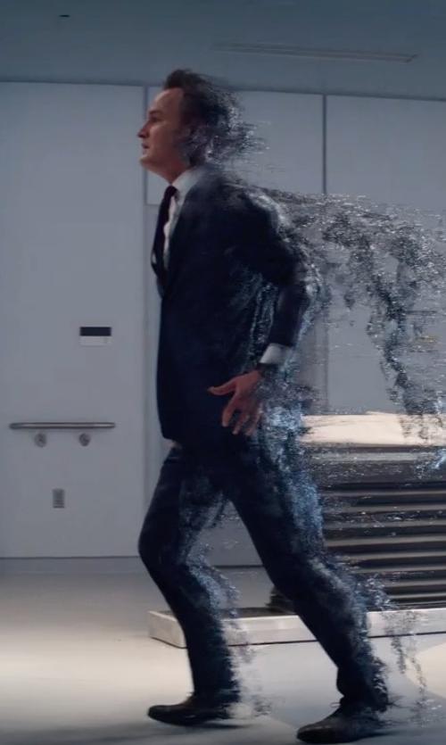 Jason Clarke with Lanvin Faille Neck Tie in Terminator: Genisys