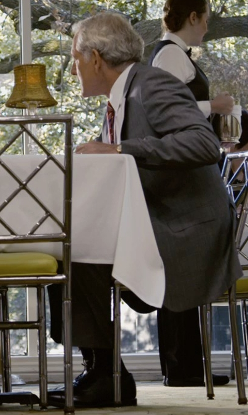 Victor Garber with Emporio Armani Formal Derby Shoes in Self/Less