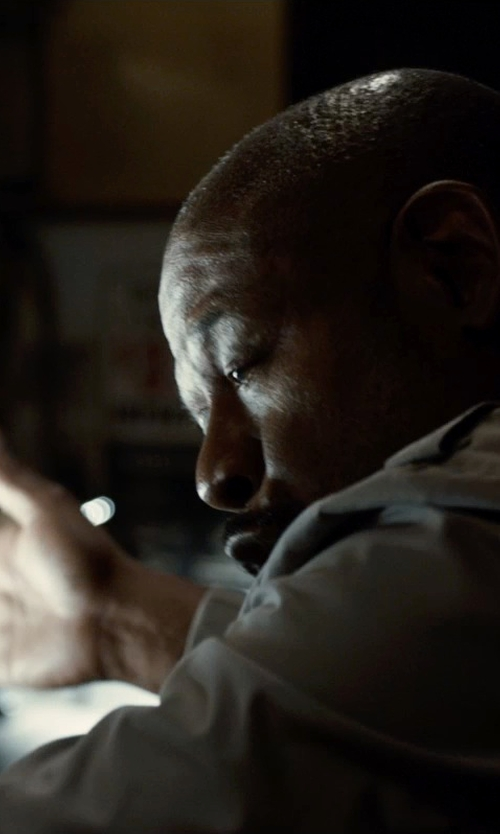 Forest Whitaker with Aspesi Techno FabricJacket in Southpaw