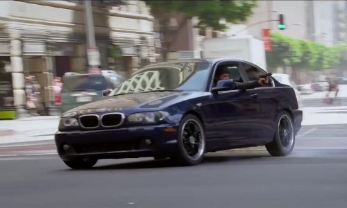 Dragos Bucur with BMW M235i Coupe in Ride Along