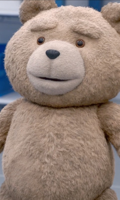 Seth MacFarlane with Daniel Jeannette (Character Design Concept) Ted in Ted 2