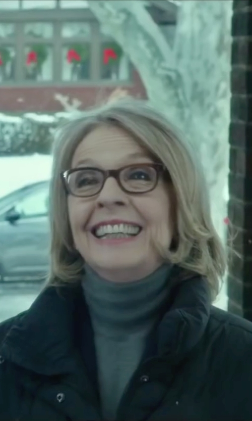 Diane Keaton with Ralph Lauren Cashmere Turtleneck Sweater in Love the Coopers