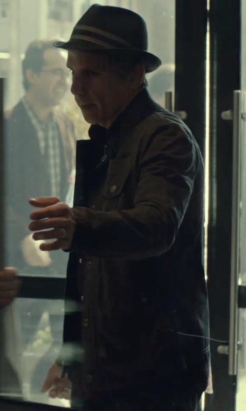 Ben Stiller with Rag & Bone Harrow Denim Jacket in While We're Young
