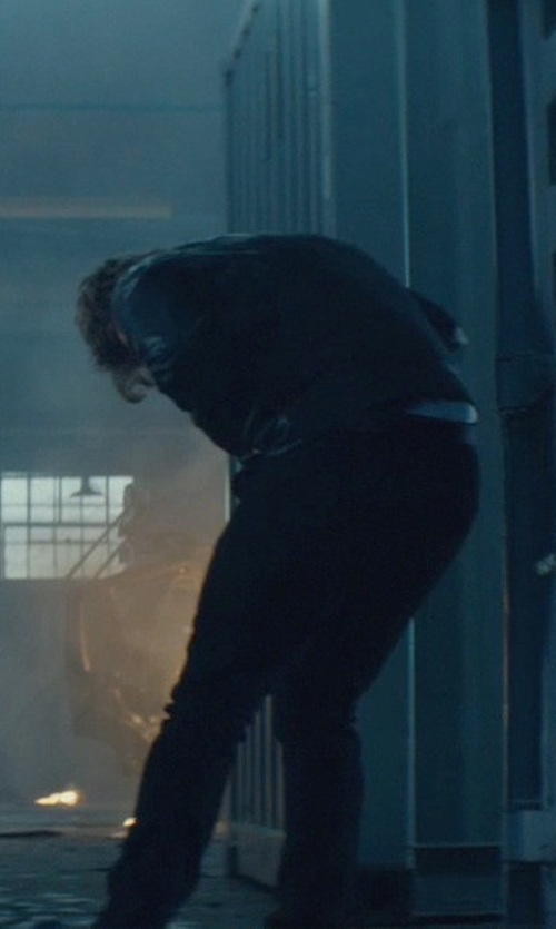 Alfie Allen with Acne Studios Ace Soft Five-Pocket Jeans in John Wick