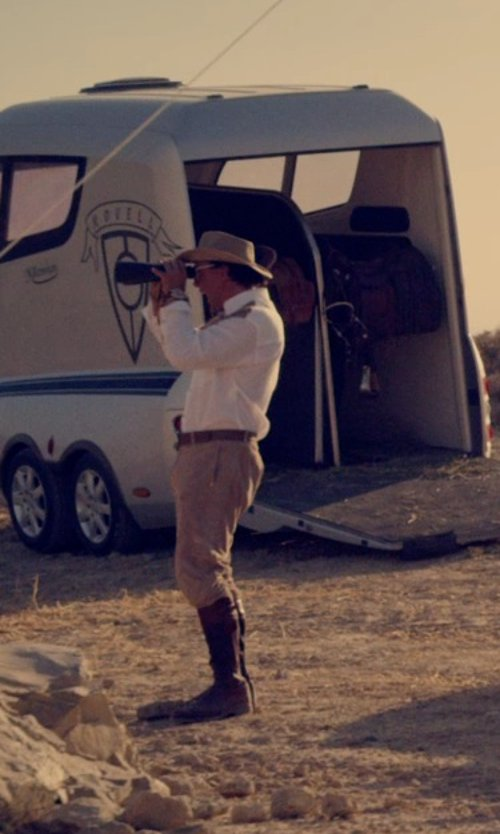 Javier Bardem with Ralph Lauren Plainview Cowboy Boot in The Counselor