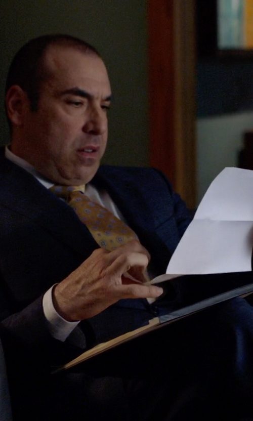 Rick Hoffman with Raymond Weil Men's RW Sport Chrono Watch in Suits