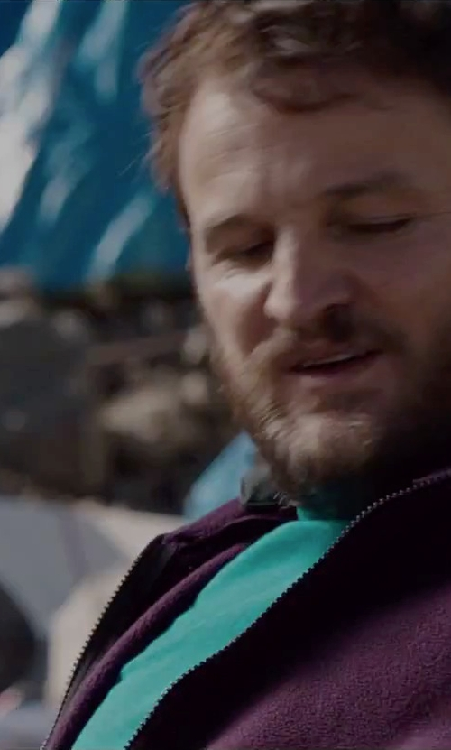 Jason Clarke with Arc'teryx Captive T-Shirt in Everest