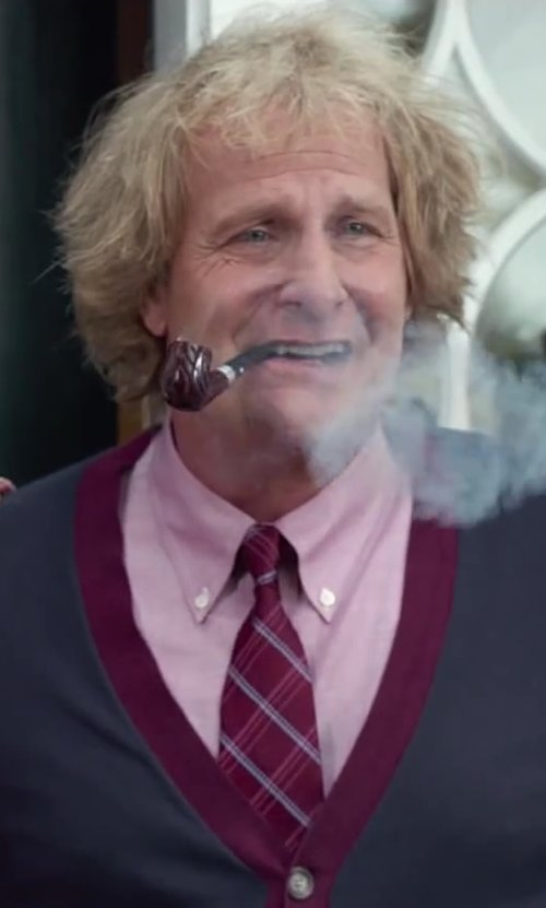 Jeff Daniels with Polo Ralph Lauren Custom Pinpoint Oxford Shirt in Dumb and Dumber To