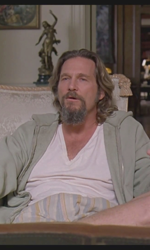 Jeff Bridges with Katin Lawn Walkshorts in The Big Lebowski