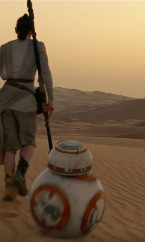 Unknown Actor with Sphero BB-8 App-Enabled Droid Robot in Star Wars: The Force Awakens