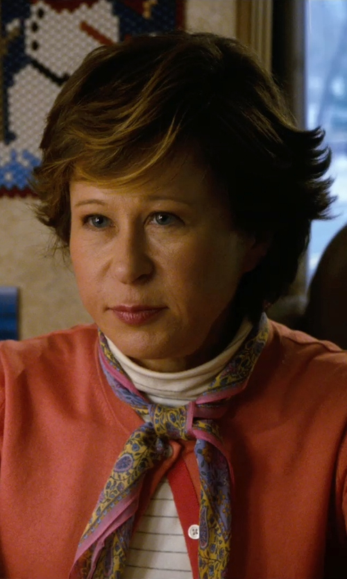 Yeardley Smith with Erfurt Square Scarf in New Year's Eve