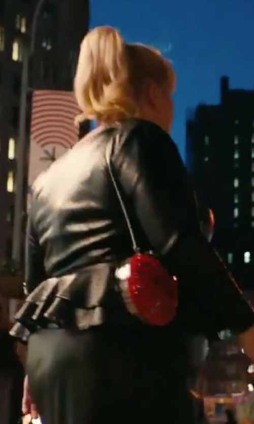 Rebel Wilson with Kate Spade New York Spring Forward Lady Bug Clutch in How To Be Single
