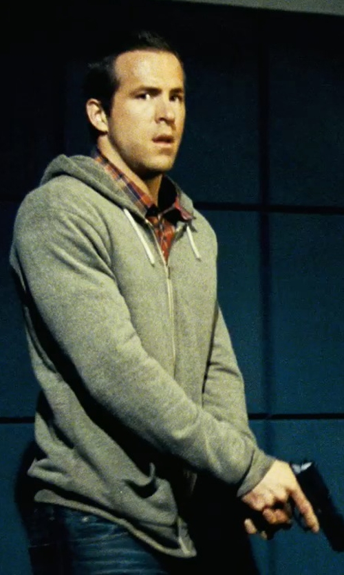 Ryan Reynolds with Wings + Horns Base Full Zip Hoodie in Safe House