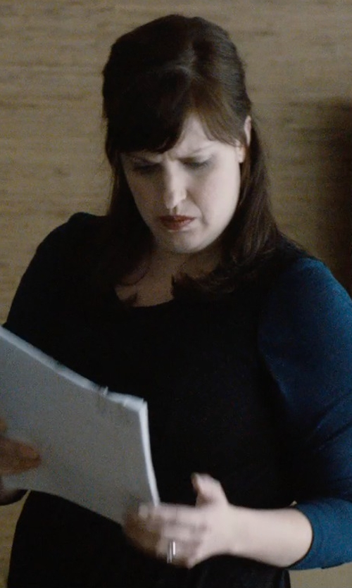 Allison Tolman with Amazon Collection Diamond Bridal Ring Set in The Gift