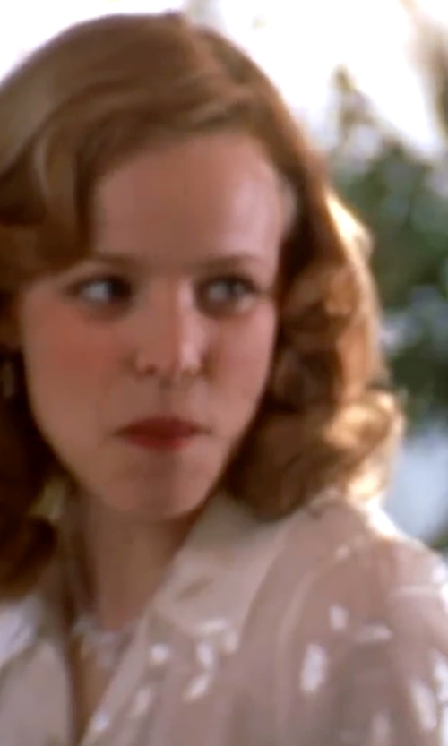 Rachel McAdams with A. Moss Polo Collar Silk Blouse in The Notebook