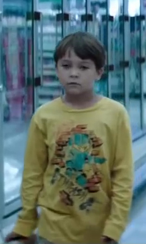 Pierce Gagnon with Toys Frankie Morello T-shirt in Wish I Was Here