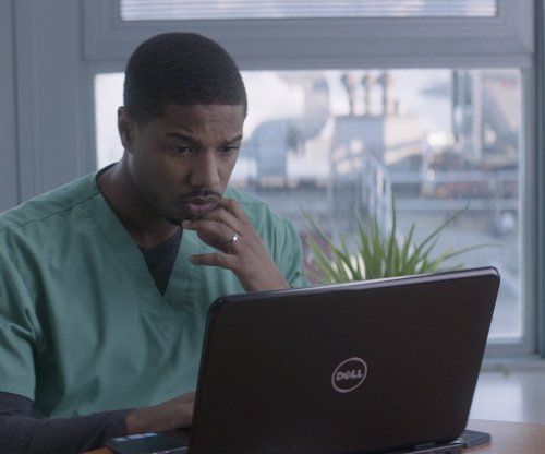 Michael B. Jordan with Dell Inspiron Laptop in That Awkward Moment