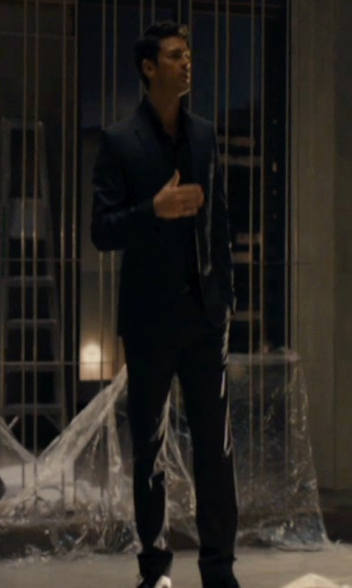 Karl Urban with Paul Smith Abbey Road Suit in The Loft