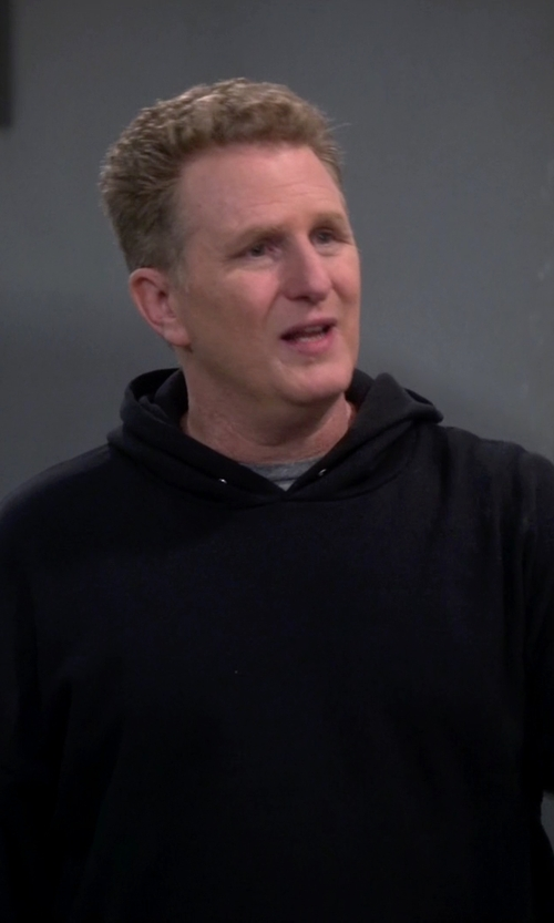 Michael Rapaport with Alternative Fleece Hoodlum Pullover Hoodie in The Big Bang Theory