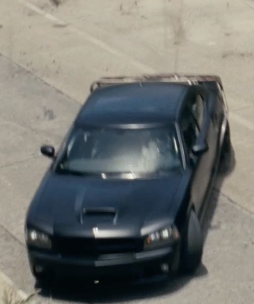 Vin Diesel with Dodge 2010 Charger SRT8 Coupe in Fast Five