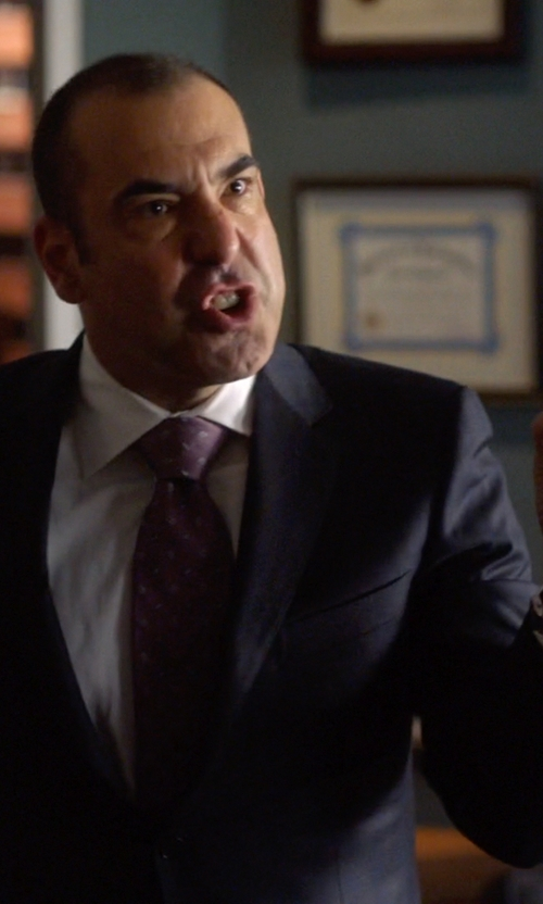 Rick Hoffman with Nixon 'The 48-20'  Chronograph Watch in Suits