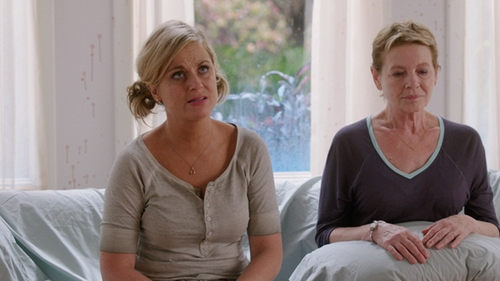 Amy Poehler with Obey Westling Henley Top in Sisters